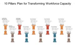 10 Pillars Plan For Transforming Workforce Capacity Ppt PowerPoint Presentation Gallery Elements PDF