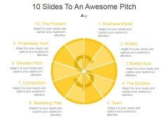 10 Slides To An Awesome Pitch Ppt PowerPoint Presentation Graphics