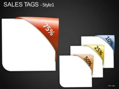 10 Percent To 75 Percent Off Tags PowerPoint Slides Editable Ppt Templates