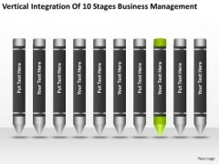 10 Stages Business Management Ppt Examples Plan PowerPoint Templates