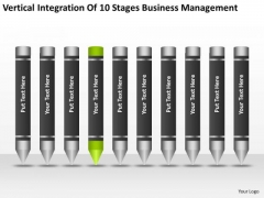 10 Stages Business Management Ppt Plan For Dummies PowerPoint Slides