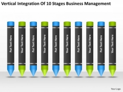 10 Stages Business Management Ppt Small Plan Software PowerPoint Templates