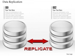 1 Data Replication From Primary To Secondary Storage Media Representing Hard Drives Ppt Slides
