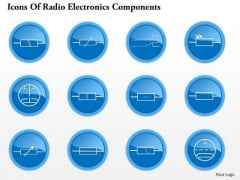 1 Icons Of Radio Electronics Components 7 Ppt Slide