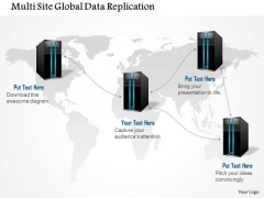 1 Multi Site Global Data Replication Storage Networking Between Data Centers Ppt Slide