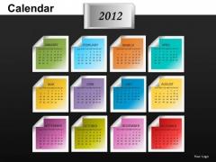 2012 Calendar PowerPoint Slides
