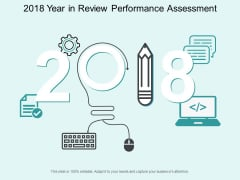 2018 Year In Review Performance Assessment Ppt PowerPoint Presentation Layouts Graphics Example