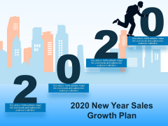 2020 New Year Sales Growth Plan Ppt PowerPoint Presentation Ideas Elements