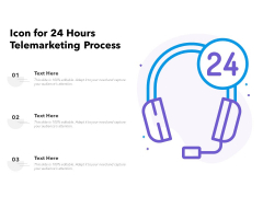 24 Hours Support Teleselling Process Vector Icon Ppt PowerPoint Presentation Portfolio Picture PDF