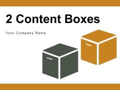 2 Content Boxes Development Strategies Ppt PowerPoint Presentation Complete Deck