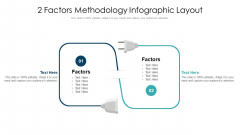 2 Factors Methodology Infographic Layout Ppt PowerPoint Presentation File Information PDF