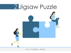 2 Jigsaw Puzzle Business Strategies Ppt PowerPoint Presentation Complete Deck