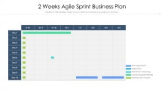 2 Weeks Agile Sprint Business Plan Ppt Styles Files PDF