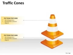 2 Points Cones PowerPoint Slides And Ppt Diagram Templates