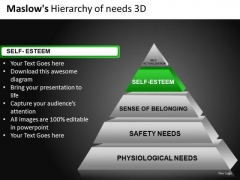 2nd Layer Of 3d Pyramid PowerPoint Slides Editable Ppt Download