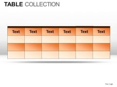 2x2 Table Collection PowerPoint Slides And Ppt Diagram Templates