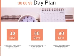 30 60 90 Day Plan Business Ppt PowerPoint Presentation Model Skills