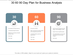 30 60 90 Day Plan For Business Analysis Ppt PowerPoint Presentation Infographic Template Backgrounds