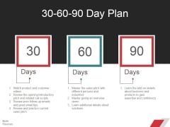30 60 90 Day Plan Ppt PowerPoint Presentation File Ideas