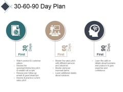30 60 90 Day Plan Ppt PowerPoint Presentation Ideas Layouts