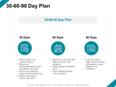 30 60 90 Day Plan Ppt PowerPoint Presentation Inspiration