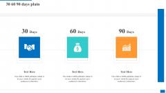 30 60 90 Days Plain Mockup PDF