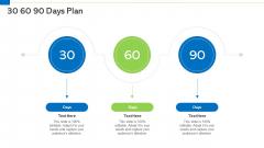 30 60 90 Days Plan Demonstration PDF