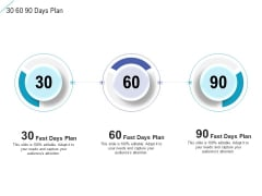 30 60 90 Days Plan Designs PDF