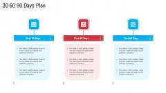 30 60 90 Days Plan Ideas PDF