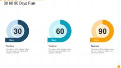 30 60 90 Days Plan Infographics PDF