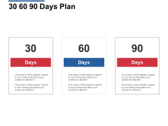 30 60 90 Days Plan Management Ppt Powerpoint Presentation File Visual Aids