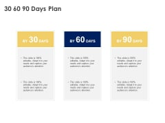 30 60 90 Days Plan Management Ppt Powerpoint Presentation Gallery Example