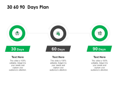 30 60 90 Days Plan Management Ppt Powerpoint Presentation Pictures Master Slide