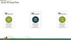 30 60 90 Days Plan Ppt File Guide PDF