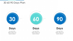 30 60 90 Days Plan Ppt Pictures Layout PDF
