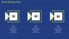 30 60 90 Days Plan Ppt Pictures Outline PDF