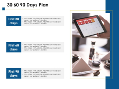 30 60 90 Days Plan Ppt PowerPoint Presentation Designs