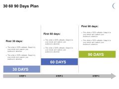 30 60 90 Days Plan Ppt PowerPoint Presentation Gallery Design Ideas
