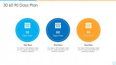 30 60 90 Days Plan Ppt PowerPoint Presentation Gallery Grid PDF