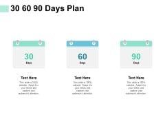 30 60 90 Days Plan Ppt PowerPoint Presentation Gallery Outfit