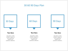 30 60 90 Days Plan Ppt PowerPoint Presentation Icon Diagrams