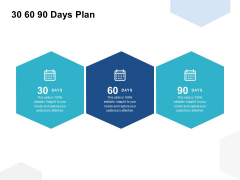 30 60 90 Days Plan Ppt PowerPoint Presentation Infographics Portrait