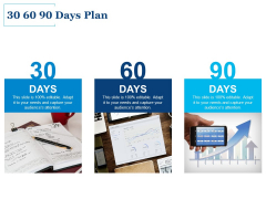 30 60 90 Days Plan Ppt PowerPoint Presentation Inspiration Infographics