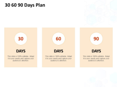 30 60 90 Days Plan Ppt PowerPoint Presentation Model Mockup