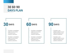 30 60 90 Days Plan Ppt PowerPoint Presentation Model Objects