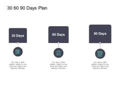 30 60 90 Days Plan Ppt PowerPoint Presentation Outline Vector