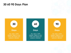 30 60 90 Days Plan Ppt PowerPoint Presentation Portfolio Aids