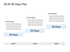 30 60 90 Days Plan Ppt PowerPoint Presentation Professional Show