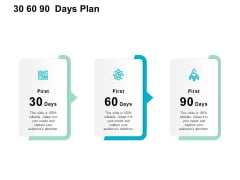 30 60 90 Days Plan Ppt PowerPoint Presentation Professional Slideshow