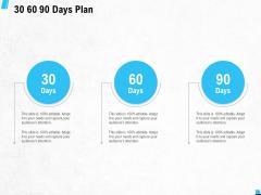 30 60 90 Days Plan Ppt PowerPoint Presentation Show Background Image